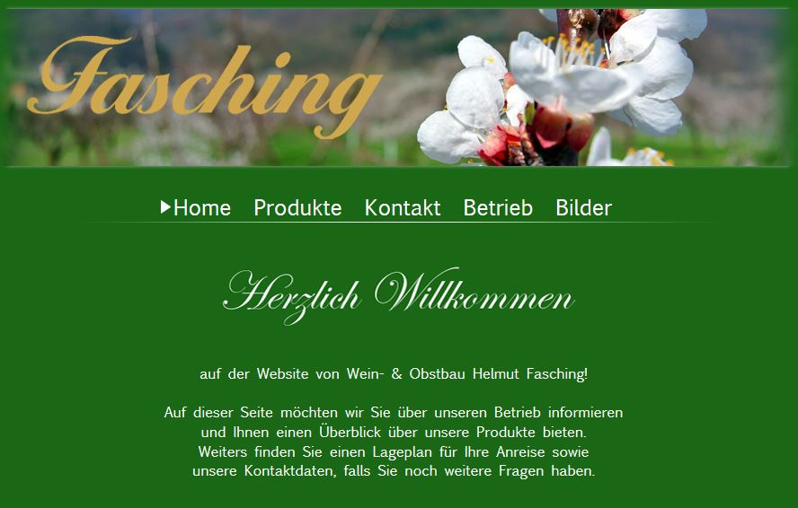 Fasching Wein Wachau
